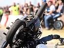Längster Stoppie bei den Stunt Games in Bordeaux, Frankreich - cool