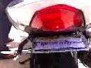 Lässt Du das Gas oft gerne stehn - schwupp die Polizei hat nix gesehen - klappbares Nummernschild