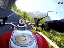 Lago di Valvestino mit Ducati Monster