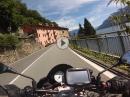 Lago Maggiore von Arona nach Locarno mit Aprilia Tuono V4 1100 RR