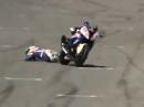 Laguna Seca SBK-WM 2014 Race2 Highlights - Chaosrennen
