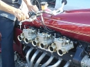 Lamborghini Custombike, 12 Zylinder Eigenbau Monster und läuft!