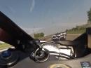 Lamborghini Gallardo vs Suzuki GSX-R 750 Ballerspaß uff de Gass