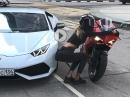 Lamborghini vs. Ducati - Frauchen hat entscheiden