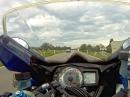 Landstraßen (B28) Spaß mit Suzuki GSX-R 1000