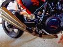 Laser Xtreme GP Style an KTM 690 Duke - Soundcheck