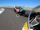 Lausitzring onboard Murtanio, Triumph Daytona 675 aus der Brit Bike Trophy - geiler Sound