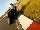 Lausitzring onboard Rennen Yamaha R6 gegen 1000er Zeit:1.49,5