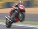 Le Mans (Frankreich) onboard Runde mit Alex Hofmann (2012) auf Aprilia RSV4 / Sport1