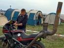 Le Mans mit Horst Saiger Quali2, Pitwalk und Zeltplatz-Verrückte