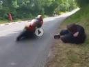 Lebensgefährlich: Idioten sterben nicht aus - unglaublich :-( :-(