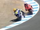 Legendär: Rossi vs Stoner Lacuna Seca 2008