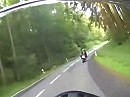 Legendäre Motorrad Strecke zwischen Laubach und Schotten
