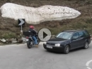 Lehrstunde: Motorrad Pässefahren - Kurventechnik anschaulich vorgeführt