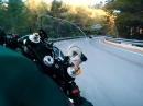Andrücken ist Leidenschaft - Motorcycle Street Riding - Locals gehen steil!