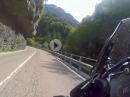 Leider geil: Auf der SS240 Via Ampola von Storo in Richtung Ledro See