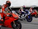 Leistung, Beschleunigung: BMW S1000RR / Ducati 1299 Panigale / Yamaha R1