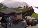 Lenkerschlagen / Kickback bei 220km/h - save