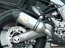 Leo Vince Motorrad Auspuffanlage Kawasaki Z 1000 SX Bj. 2011 Slip-On