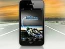 LeoVince iPhone App für Motorrad Auspuffanlagen