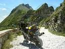 Ligurische Grenzkamm-Strasse Ligurien Seealpen Italien und Frankreich