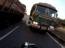 LKW Beinah Crash - Eingenässt und Schutzengel dabei