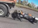 LKW Crash - Wir lernen: NIEMALS hinter einen LKW stellen