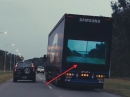 LKW Unfallverhütung: Samsung Safety Truck, Monitor am Heck - innovativ?!