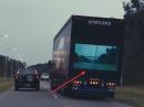 LKW Unfallverhütung: Samsung Safety Truck, Monitor am Heck - innovativ?!