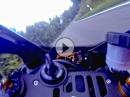 Lochenpass Balingen angasen mit Yamaha YZF R1 2015
