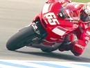 Lorsi Capirossi Ducati Desmosedici - 3 Minuten Super Zeitlupe - geil