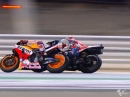 Losail, Qatar MotoGP Highlights - FIM MotoGP 2018 Dovizioso, Marquez, Rossi