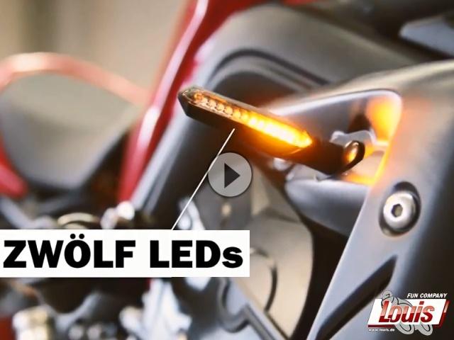 Louis LED-Blinker mit Lauflicht-Effekt - An-aus war gestern