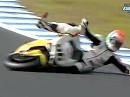Lowsider klassisch - Jakub Smrz Superbike-WM 2011 Phillip Island