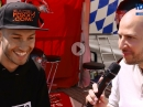 Lukas Tulovic bei der IDM 2019 in Oschersleben, Interview