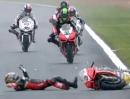 Magny Cours SBK-WM 2012 Race1 Highlights - Sturz Biaggi - die Entscheidung?