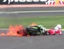 Magny Cours SBK-WM 2013 Race1 Highlights. Sykes gewinnt Abbruch Rennen