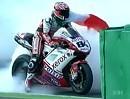SBK 2010 Magny-Cours (Frankreich) - Superbike Rennen 2 - Letzte Runde / Highlights / Interviews