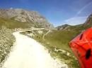 Maira-Stura Kammstrasse. Eine der schönsten Schotterstrecken gefahren mit einer BMW F800GS (Südpiemont/Italien)
