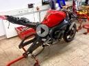 Yamaha R1 mal ohne Schalldämpfer :-)