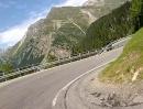 Maloja Pass (Passo del Maloggia), Graubünden, Schweiz Richtung Chiavenna