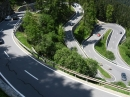 Malojapass (Schweiz) von Vicosoprano Richtung Maloja - Superhertog