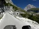 Mangart, Italien, Slowenien Traumhaft - Alpentour 2017