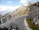 Mangart Straße Motorradtour auf der höchste Straße in Sloweniens