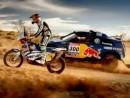 Mani Roma & Carlos Sainz - Red Bull-Fahrer - bereiten sich auf die Dakar 2011 vor. Geile Aufnahmen!