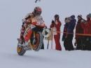 Spektakulär: Marc Marquez erobert die Streif vor dem Hahnenkamm Rennen in Kitzbühel