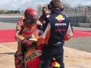 Marc Marquez: Erster MotoGP Test auf dem Circuito de Montmelo