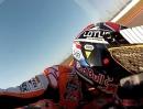 Marc Marquez: Honda RC213V MotoGP GoPro Action onboard beim Test in Austin
