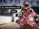 Marc Marquez Kalender 2021 - EL FENOMENO 93 - DIN A3 - das ideale Geschenk für den Fan