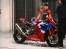 Marc Marquez testet die neue Honda CBR1000RR-R Fireblade SP